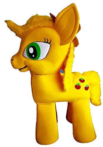 (My Little Pony Applejack Mascot Party Costume Light Blue Character)