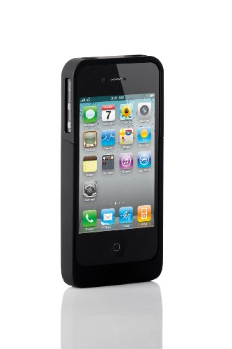 Casepower CASE - 101 External Protective Battery Case for iPhone 4S/4 - Retail Packaging - Black