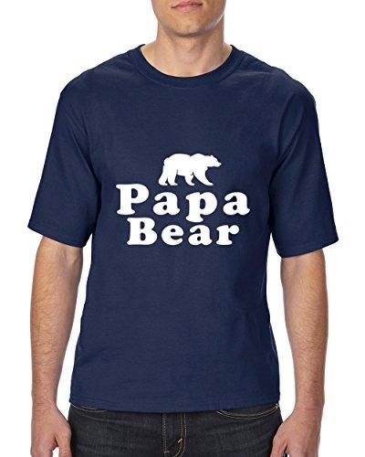 Ugo Papa Bear Matches w Mama Bear & Baby Bear Matching Couples Gift Match w Hats Ultra Cotton Unisex T-Shirt Tall (Mace Bear Repellent Spray)