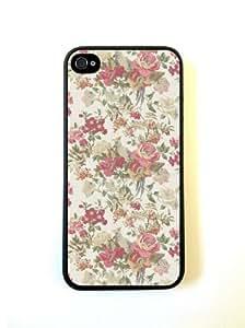 Vintage Floral Case For HTC One M7 Over CaFor Case For HTC One M7 Over- ...