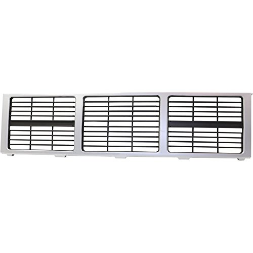 Evan-Fischer EVA17772039977 Grille for GMC Jimmy 85-88 Silver Shell W/Gray - Jimmy Gmc 86 87 85