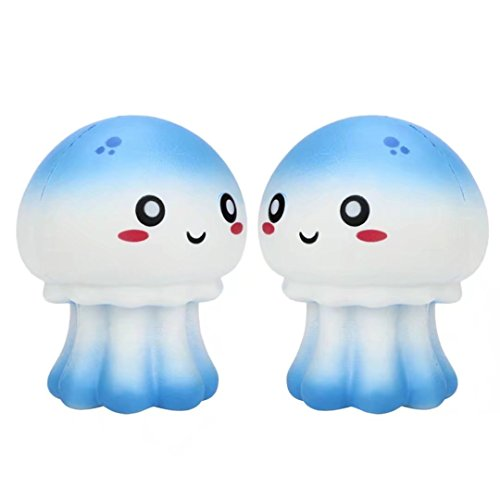 Price comparison product image Sunfei Squeeze Jellyfish Squishy Slow Rising Cream Scented Decompression Toys
