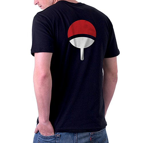 The Dude Halloween Costume Ideas (TheShirtDudes Uchiha Clan - Adult T-Shirt for Naruto Anime Cosplay)