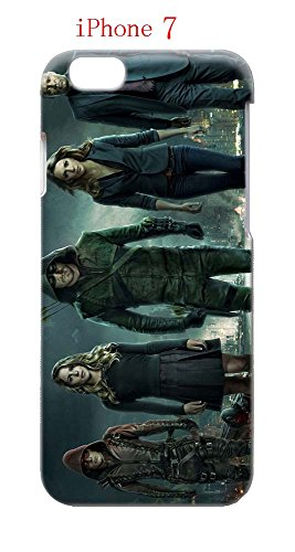 Laurel Lance Arrow Costume (iPhone 7 Case, The TV Series Arrow 02 Drop Protection Never Fade Anti Slip Scratchproof 3D Hard Plastic Case)