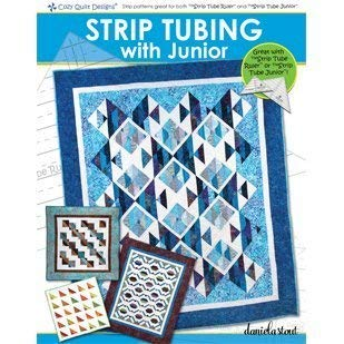 Cozy Quilt Designs CQD04019 Tubing with Junior Pattern ()