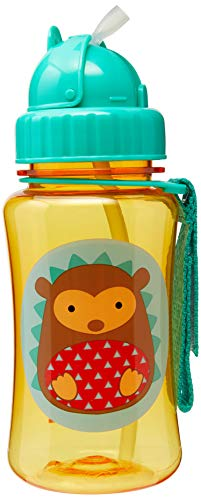 Skip Hop Straw Cup, Toddler Transition Sippy Cup, Hedgehog (Best Sippy Cup To Transfer From Bottle)