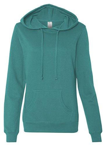 ITC Juniors' Hooded Sweatshirt SS650 - Large-Teal