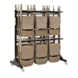 Safco Products Two-Tier Folding Chair