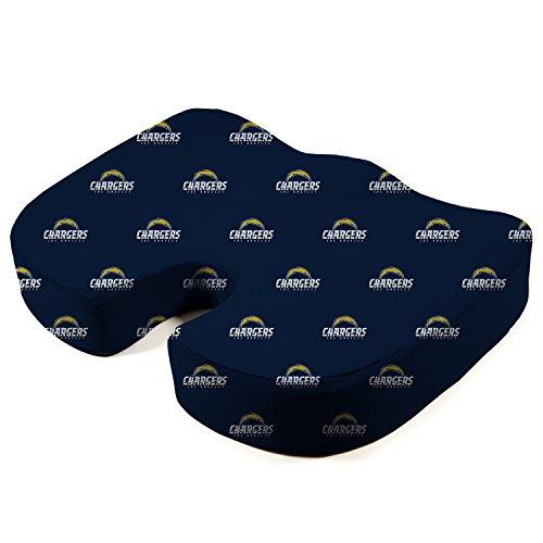 Pegasus Sports NFL Los Angeles Rams Los Angeles Rams Memory Foam Seat Cushion, Millennium Blue