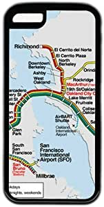 Bay Area Rapid Transit Map Theme for iphone 6 4.7 Case