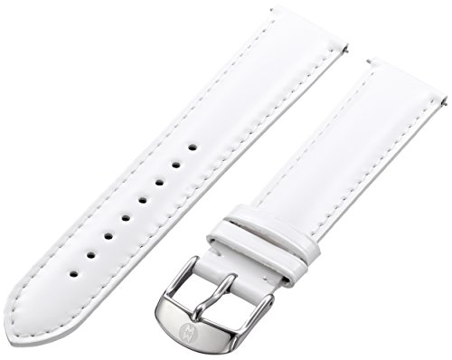 Michele Watches 18mm Leather Watch Strap - 6