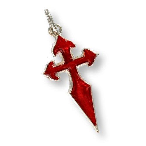 Colgante de la cruz de Santiago de Compostela