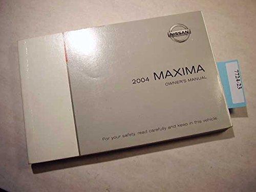 2004 Nissan Maxima Navigation Owners Manual ()