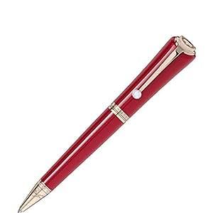 Montblanc Muses Edition Marilyn Monroe Ballpoint Pen, Precious Resine, Gold Trim