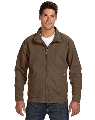DRI Duck 5028 Maverick Canvas Jacket Field Khaki Large