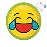 Bargain World Emoji Dinner Plates (With Sticky Notes)