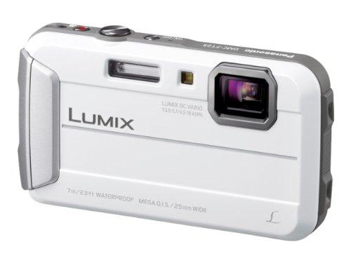 パナソニック デジタルカメラ ルミックス FT25 防水 ホワイト DMC-FT25-W  ホワイト B00B7FO7G0