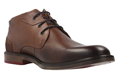 FRETZ men - Zapatos de cordones de Piel Lisa para hombre marrón marrón