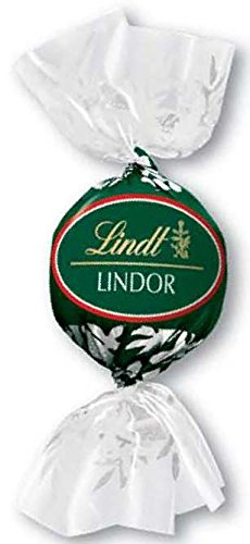 Dark Chocolate Mint Truffles (Lindt LINDOR Holiday Peppermint Dark Chocolate Truffles, Kosher, 352.74 Ounce Case)