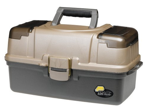 Plano 6134-03 Large 3-Tray with Top Access Tackle Box by Plano