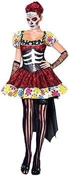 Partilandia Disfraz de Esqueleto Mejicana Catrina Día de los ...