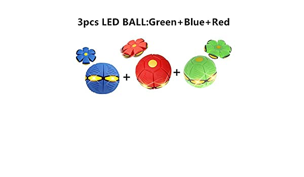 2/3/4pcufo Magic Ball Bola de platillo volador (luz LED) mágica ...