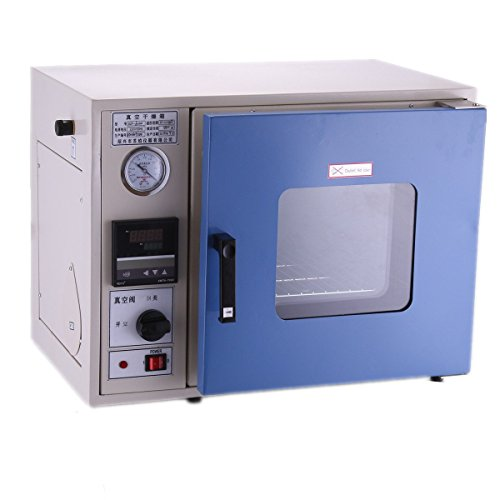 OrangeA Vacuum Drying Oven 0.9 Cu Ft 23L 12 x 12 x 11 Inch Digital Degassing Drying Oven Stainless Steel Vacuum Chamber Drying Sterilizing Oven MCU-based temperature Controller Herbal Extraction by OrangeA