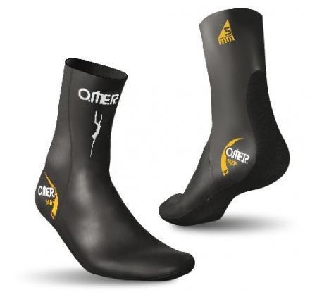Omer–scarpin Comfort 5mm, colore: nero, taglia EU 42–43