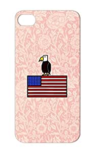 Satire Funny American Eagle Red For Iphone 5 American Eagle Protective Hard Case