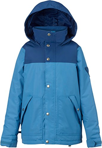 Burton Boys Fray Jacket, Boro/Glacier Blue, (Glacier Systems Jacket)