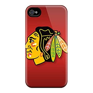 Premium Protection Chicago Blackhawks Cases Covers For Iphone 6plus- Retail Packaging