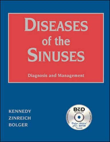 Diseases of the Sinuses: Diagnosis and Management (Book with CD-ROM for Windows & Macintosh)
