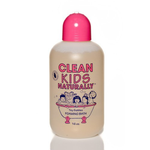 Clean Kids wild watermelon Bubble Bath, 16 Oz, Package May Vary ()