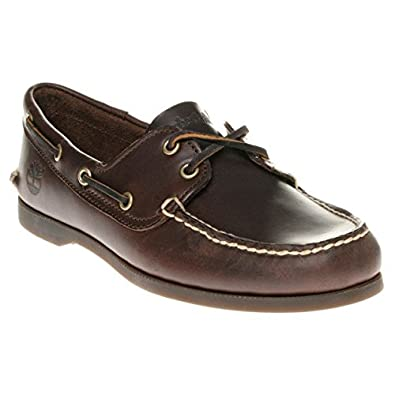 6a981b810de Timberland Brig 2 Eye Boat Homme Chaussures Marron  Amazon.fr ...