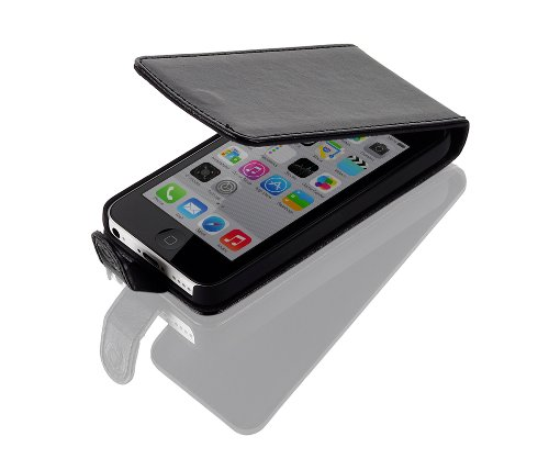 Gear4 G4J1006G Low Cost Leder Flip Case für Apple iPhone 5