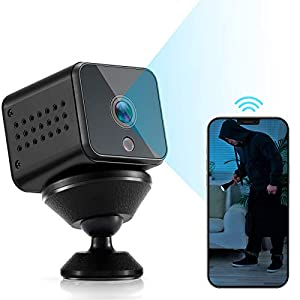 Flashandfocus.com 41wiErNUaXL._SS300_ Spy Camera Mini WiFi Hidden Camera HAOHUNT HD 1080P with Audio Motion Detection Night Vision Nanny Surveillance Camera…