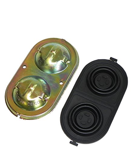 (E-3-4) Compatible With 1967-69 All GM A F X Body Disc Brake Master Cylinder Lid Cap & Rubber Seal NOSR