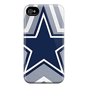 Iphone 4/4s XJS12158HQcw Support Personal Customs Colorful Dallas Cowboys Series Excellent Hard Phone Cover -CassidyMunro