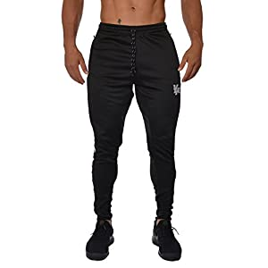YoungLA Mens Soccer Training pants tapered fit 5 colors Medium blk/wht