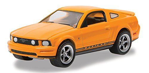 - 2009 Ford Mustang Grabber Orange Mustang 45th Anniversary Collection 1/64 by Greenlight 27850 B
