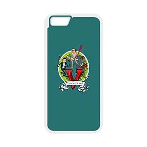 iPhone 6 Plus 5.5 Inch Cell Phone Case White GTA5 Adventure Time OJ677765