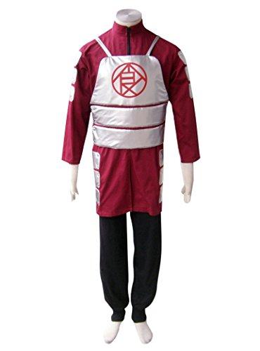 [Dazcos Naruto Akimichi Choji Cosplay Costume (Men L)] (Choji Cosplay Costume)