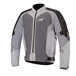 Alpinestars 2827 Wake Air Jacket (Black and Mid Grey, L)
