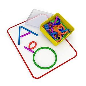 Osmo 902-00017 - Bastoni e anelli con ABC e giochi magici Squiggle (2019), giocattolo educativo, multicolore 8 spesavip