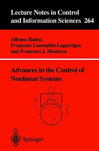 Advances in the Control of Nonlinear Systems (Lecture Notes in Control and Information Sciences)