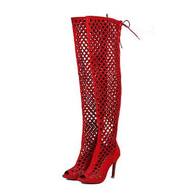 Tacones de mujer de primavera / verano / otoño / invierno Gladiator / confort / Novedad Polipiel Mié.Ding / Fiesta &/ Noche / vestimenta casual Black