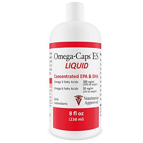 Pet Health Solutions Omega-Caps ES LIQUID (8 fl oz each) - 2 PACK