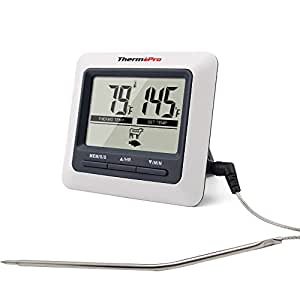 Cooking Thermometers Electronic Digital Probe Food Cooking Timer Kitchen Oven Grill Meat Thermometer