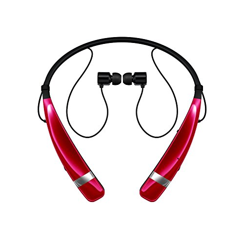 Click to buy LG 60-5939-05-XP Tone Pro(TM) 760 Bluetooth(R) Wireless Stereo Headphones with Microphone (Pink) - From only $53.45