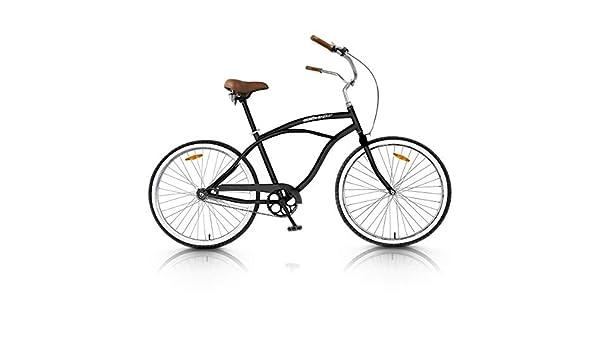 Vip4Vip Bicicleta de Paseo Cuadro de 20 Pulgadas de Acero Llanta y ...